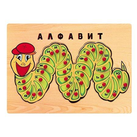 Алфавит-гусеница Woodkit развивающая