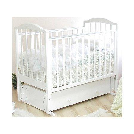 Кровать детская Красная Звезда (Можга) Руслан белый