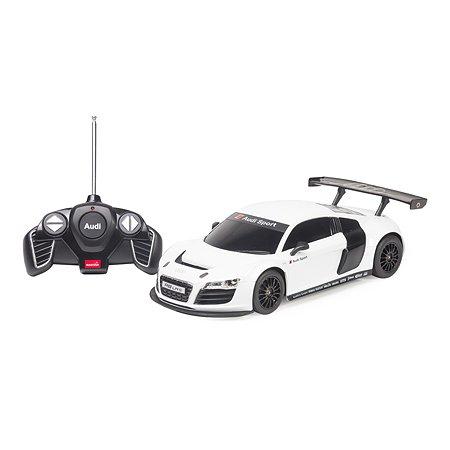 Машинка р/у Rastar Audi R8 1:18 серебряная