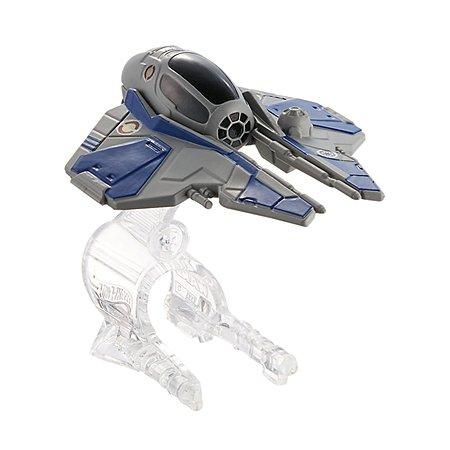 Машина Hot Wheels Star Wars Звездные корабли Jedi Starfighter CGW65
