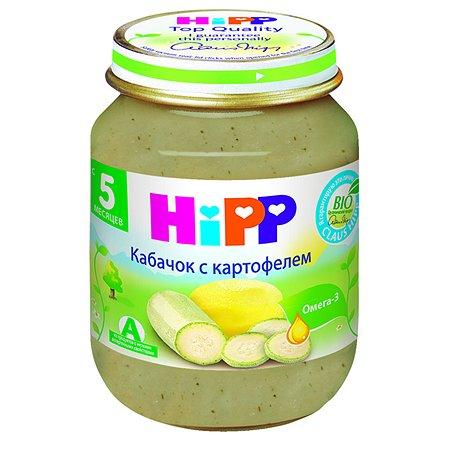 Пюре Hipp цуккини-картофель 125г с 5месяцев