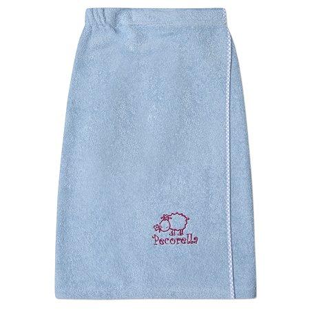 Полотенце на липучке Pecorella Голубое