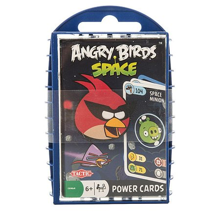 Игра с карточками Tactic Games ANGRY BIRDS КОСМОС