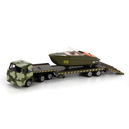 Камаз военный Технопарк с лодкой
