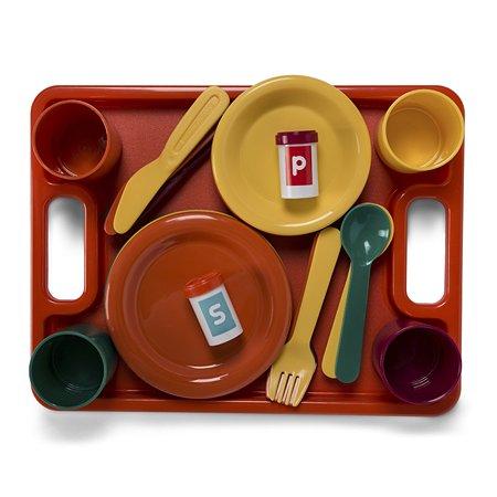 Набор посуды Battat Званый ужин (на 4 персоны)