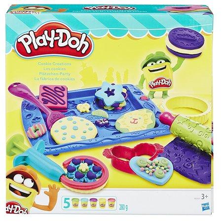 Набор пластилина Play-Doh Магазинчик печенья 5цветов B0307EU8