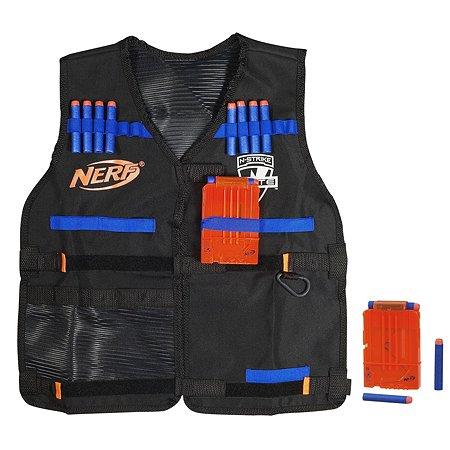 Жилет агента Nerf Elite + патроны 12 штук (A0250)