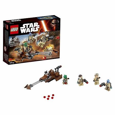 Конструктор LEGO Star Wars TM Боевой набор Повстанцев (75133)