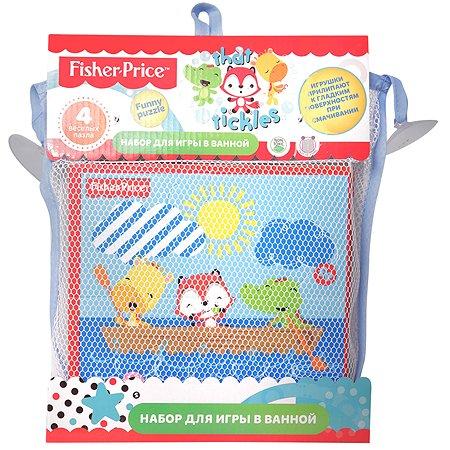 Набор для игры в ванной Fisher Price Funny puzzle 4пазла 10014