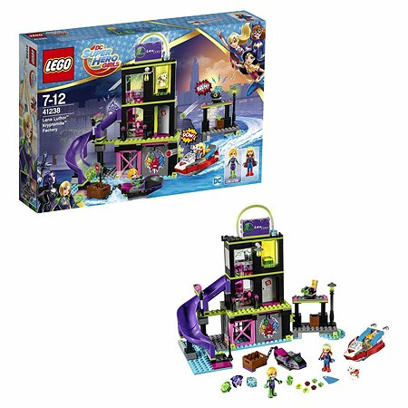 Конструктор LEGO DC Super Hero Girls Фабрика Криптомитов Лены Лютор (41238)