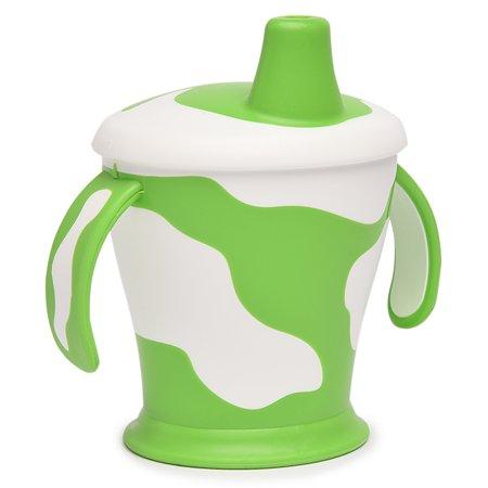 Непроливающий поильник Canpol Babies 250 мл Зелёный с белым