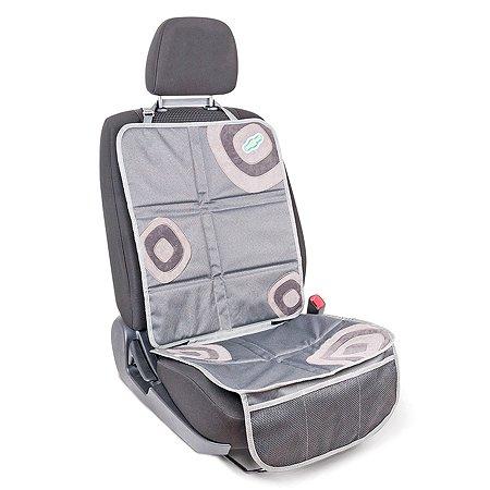 Защитная накидка Смешарики под детское кресло на спинку и сиденье Cерая