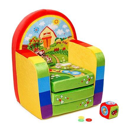 Кресло Смолтойс развивающее Ферма В54