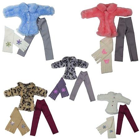 Одежда для кукол Модница 29 см: полушубок, брюки в ассортименте