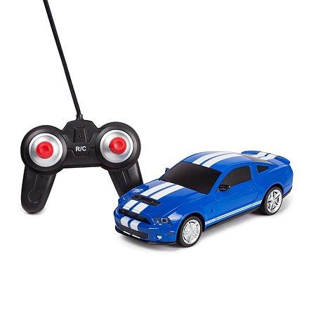 Машинка РУ Mobicaro Mustang GT500 1:24 голубая