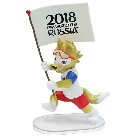 Фигурка 2018 FIFA World Cup Russia TM Zabivaka знаменосец Т11145