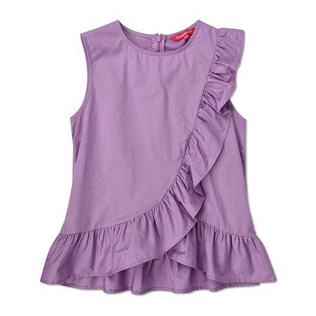 Блузка Futurino фиолетовая