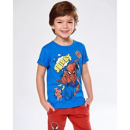 Футболка Spider-man синяя