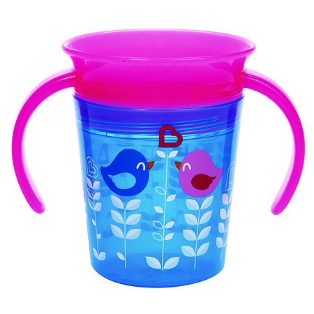 Чашка-непроливайка Munchkin Птички 177мл Голубой