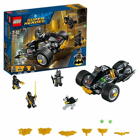 Конструктор LEGO Super Heroes Бетмен Нападение Когтей 76110