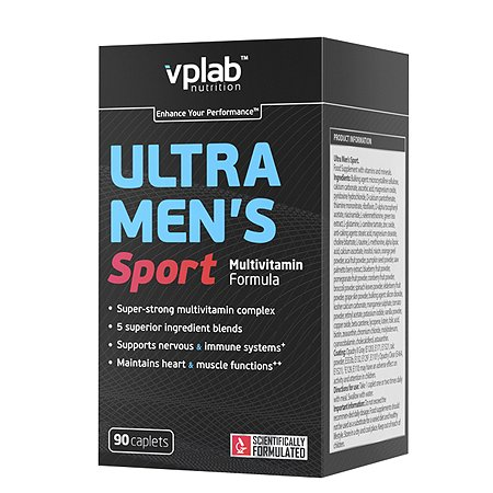Комплекс витаминов VPLAB Ультра менс 90капс