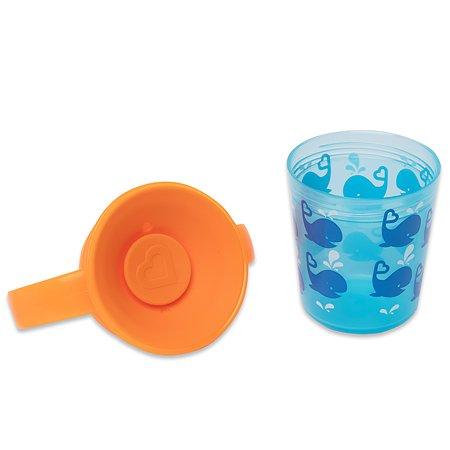 Чашка-непроливайка Munchkin Голубой кит 177мл