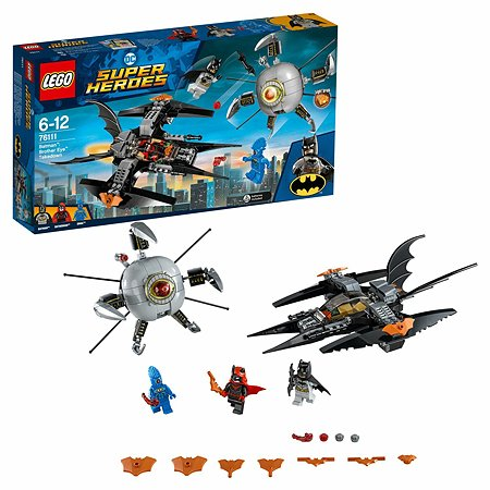 Конструктор LEGO Super Heroes Бэтмен ликвидация Глаза брата 76111