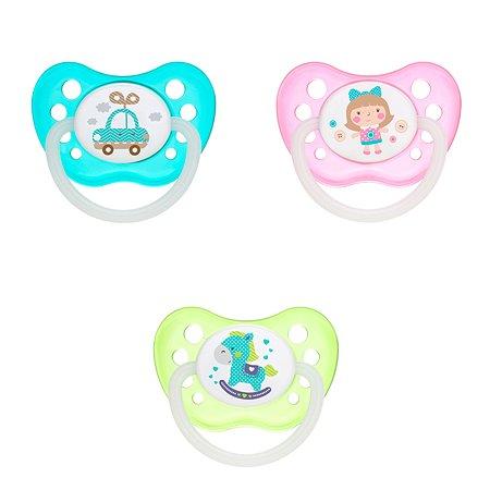 Пустышка Canpol Babies Toys c 6месяцев Бирюзовая