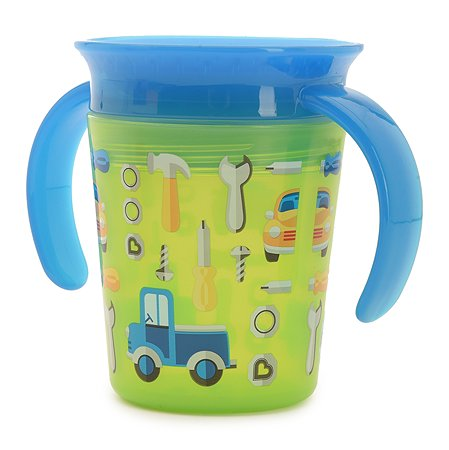 Чашка-непроливайка Munchkin Зеленые Машинки 177мл