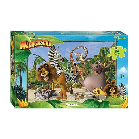 Пазл Степ Пазл Мадагаскар-3 maxi24 DreamWorks
