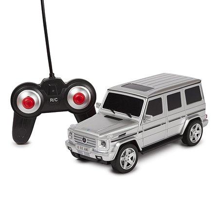 Машинка радиоуправляемая Mobicaro Mercedes-Benz G55 1:24 Серебряная