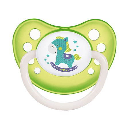 Пустышка Canpol Babies Toys c 6месяцев Зеленая