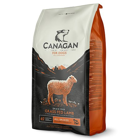 Корм для собак Canagan Grass Fed ягненок 12кг