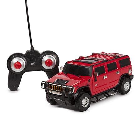 Машинка радиоуправляемая Mobicaro Hummer H2 1:24 Красная