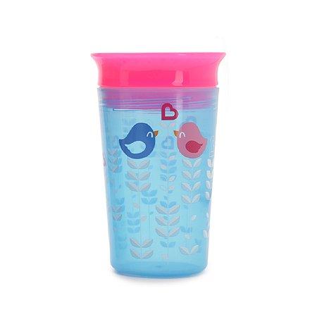 Чашка-непроливайка Munchkin Голубые птички 266мл