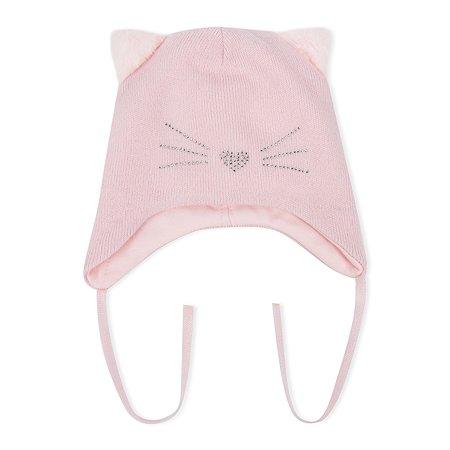 Шапка Baby Gо розовая