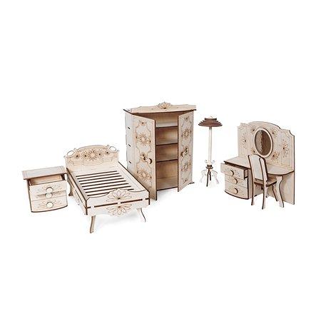 Конструктор 3D Lemmo Набор мебели спальня подвижный 101элемент МЕ-7