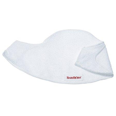 Нагрудник к рюкзаку для переноски BabyBjorn Белый