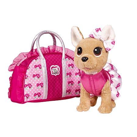 Игрушка Chi Chi Love Собачка с сумочкой 5893346