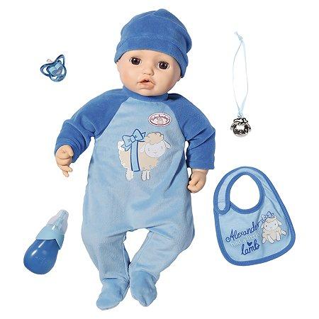 Кукла Baby Zapf Creation Annabell мальчик многофункциональная 701-898
