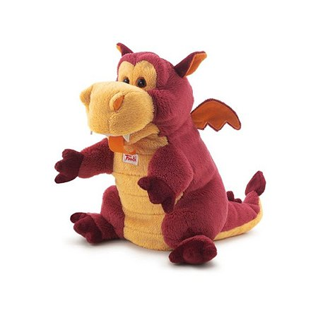 Дракон Trudi 25 см(игрушка на руку)