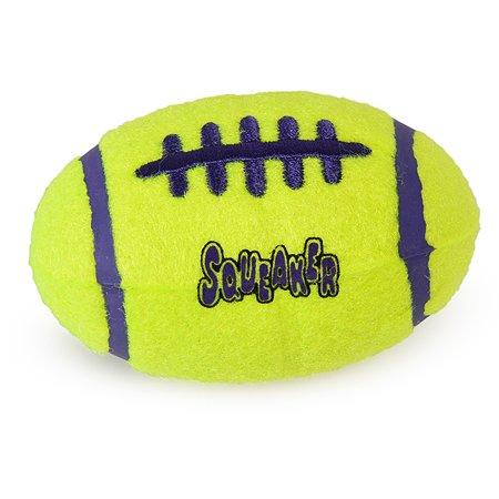 Игрушка для собак KONG Air Регби малая ASFB3