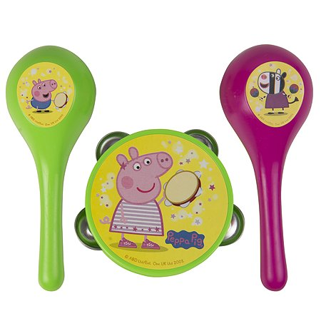Набор Свинка Пеппа Pig Бубен и маракасы 30569