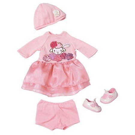 Одежда для кукол Zapf Creation Baby Annabell вязанная 4предмета 701-966