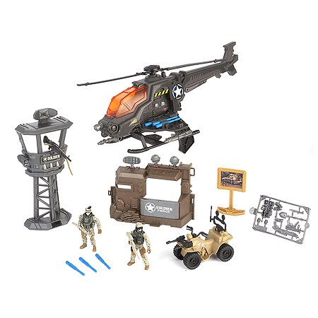 Набор Chap Mei Армейская база вертолет 5 пред 2 фигуры