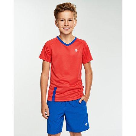 Футболка спортивная Jomoto красная