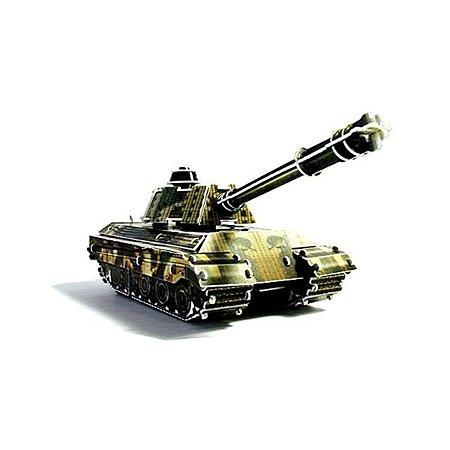 3D пазл заводной UF Танк