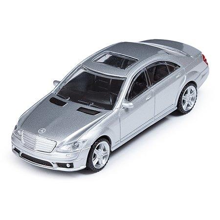 Машинка Rastar Mercedes S 63 AMG 1:43 Серебристая