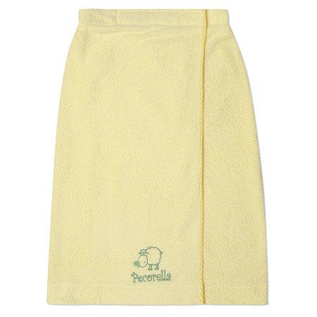 Полотенце на липучке Pecorella желтое