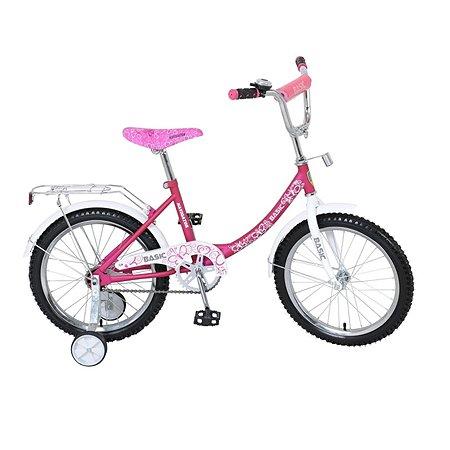 """Велосипед Navigator 18"""" BASIC розово-белый"""
